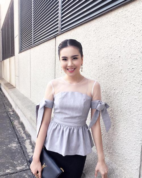 """""""Hoa hậu VTV"""" Mai Ngọc hé lộ về món đồ hiệu đầu tiên - 1"""