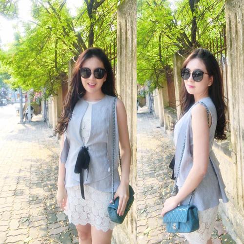 """""""Hoa hậu VTV"""" Mai Ngọc hé lộ về món đồ hiệu đầu tiên - 6"""