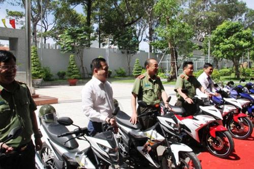 Trang bị 100 mô tô đặc chủng cho CA bắt cướp ở Sài Gòn - 3