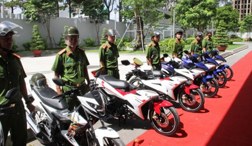 Trang bị 100 mô tô đặc chủng cho CA bắt cướp ở Sài Gòn - 1