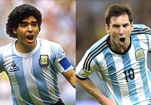 Messi được bầu chọn vĩ đại hơn Maradona - 1