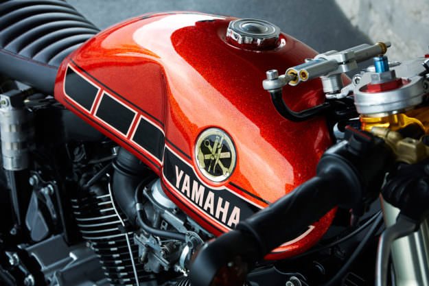 Yamaha TR1 Cafe Racer Roland đậm chất ngầu - 3