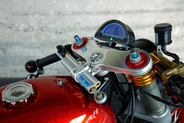 Yamaha TR1 Cafe Racer Roland đậm chất ngầu - 6