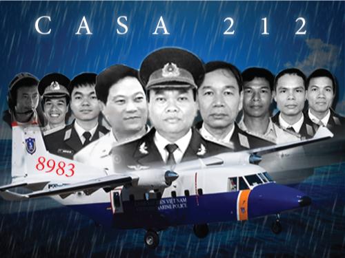 [Infographic] Chân dung 9 thành viên tổ bay CASA-212 - 1