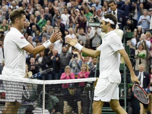 "Federer – Willis: Vinh dự cho ""tí hon"" (vòng 2 Wimbledon) - 1"