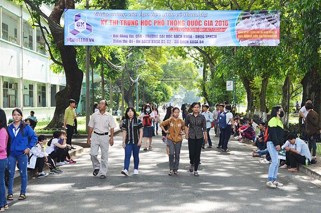 Gần 888.000 thí sinh làm thủ tục dự thi THPT Quốc gia - 7