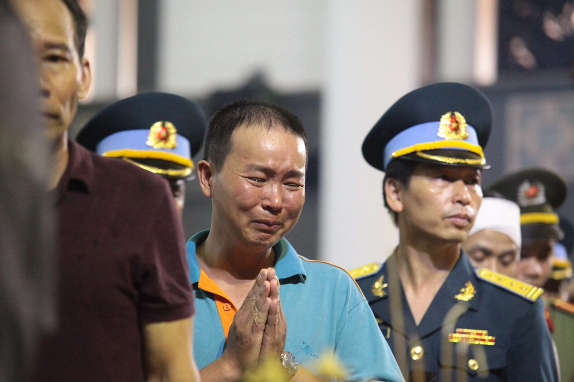 Ảnh: Nghẹn ngào tiễn biệt 9 thành viên tổ bay CASA-212 - 18