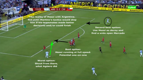 """Sốc với hình ảnh Messi """"một mình cân cả thế giới"""" - 3"""