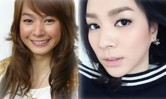 """7 mỹ nữ nổi tiếng Thái Lan đẹp nhờ """"đập mặt đi xây lại"""" - 4"""