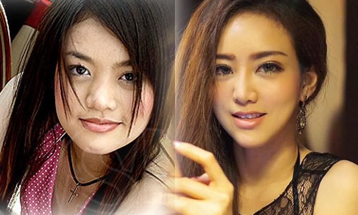 """7 mỹ nữ nổi tiếng Thái Lan đẹp nhờ """"đập mặt đi xây lại"""" - 3"""