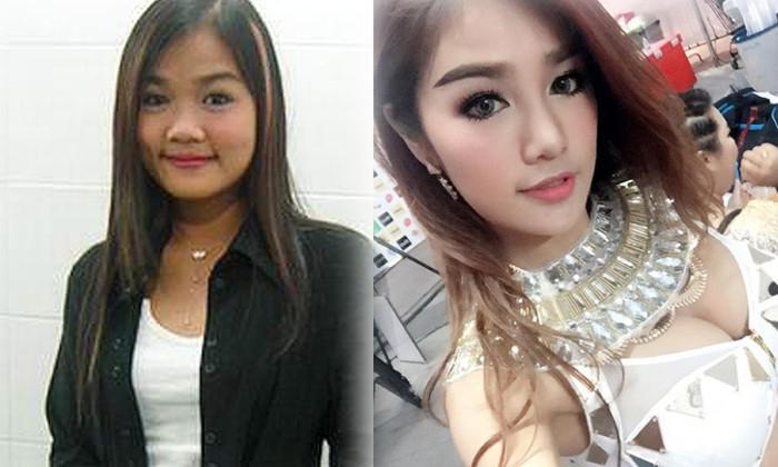 """7 mỹ nữ nổi tiếng Thái Lan đẹp nhờ """"đập mặt đi xây lại"""" - 5"""