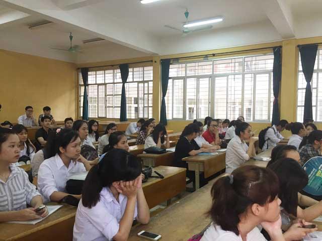 Hôm nay, gần 900.000 thí sinh thi môn đầu tiên kỳ thi THPT Quốc gia - 1