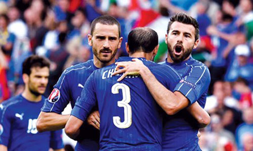 Tứ kết Euro: Kính vạn hoa - 1