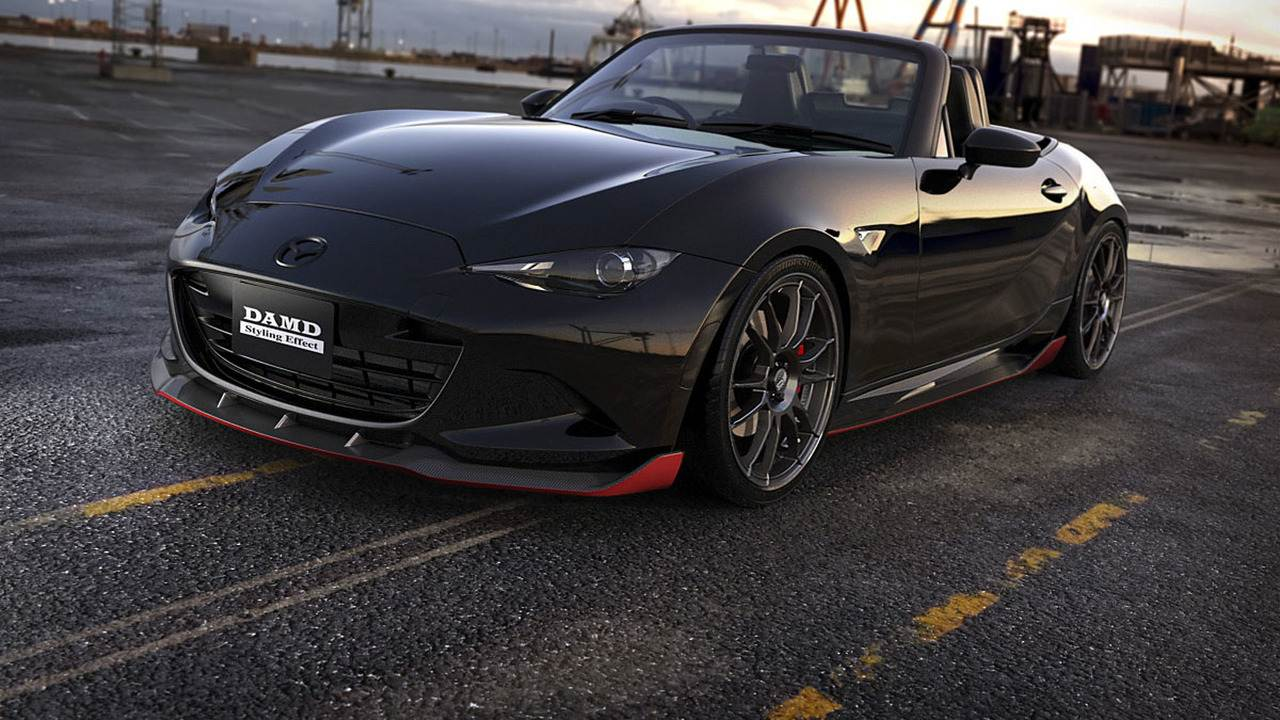 "DAMD ""phù phép"" xe thể thao Mazda MX-5 Miata phiên bản Batman - 1"