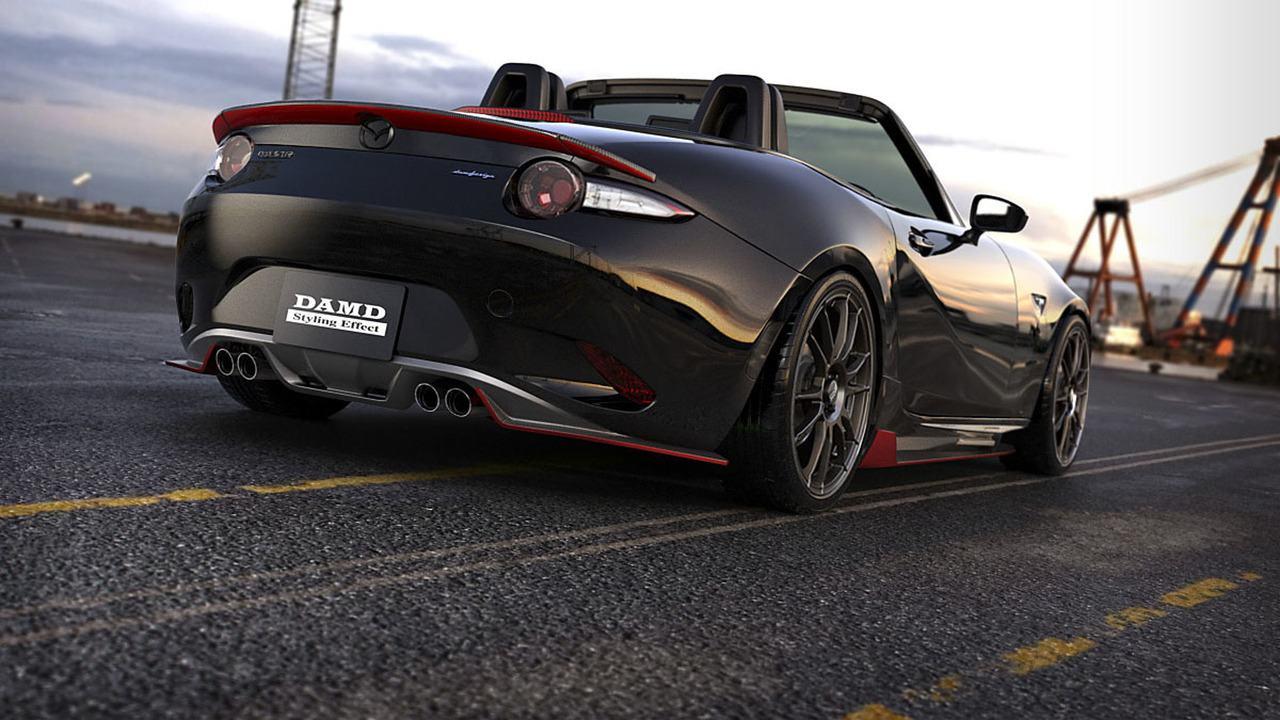 "DAMD ""phù phép"" xe thể thao Mazda MX-5 Miata phiên bản Batman - 5"