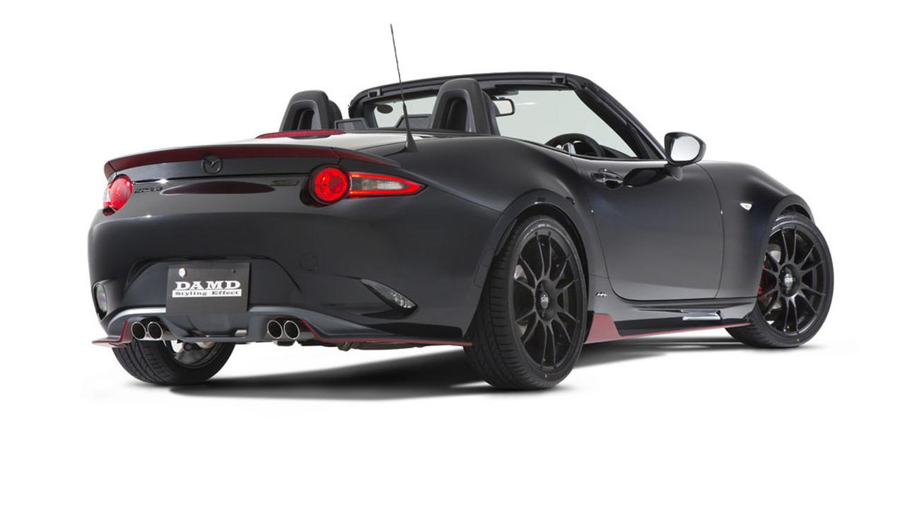 "DAMD ""phù phép"" xe thể thao Mazda MX-5 Miata phiên bản Batman - 6"