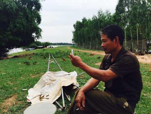 """Cận cảnh cá sấu """"khủng"""" bắt được ở hồ câu nổi tiếng Hà Nội - 10"""
