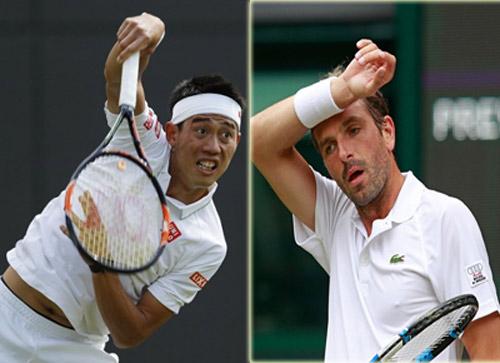 Nishikori - Benneteau: Lội ngược dòng (Vòng 2 Wimbledon) - 1
