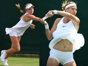 Tay vợt nữ lại gặp rắc rối với váy ngắn ở Wimbledon