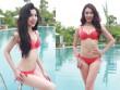 Thí sinh miền Bắc HH Bản sắc Việt toàn cầu hút mắt với bikini