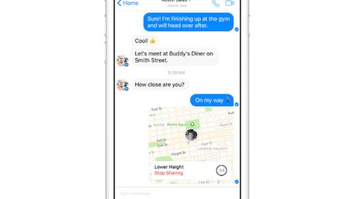 """Facebook Messenger được bổ sung 2 tính năng mới """"kịch độc"""" - 1"""