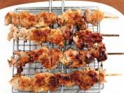 """Thịt xiên nướng kiểu Hàn vàng ươm, thơm phức  """" gây nghiện """"  cả nhà"""