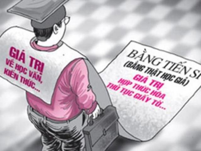 Bảo vệ giành bằng cử nhân và nỗi buồn đeo đẳng sinh viên Việt