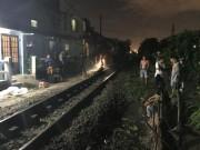 Tin tức trong ngày - Ngồi giữa đường ray, người đàn ông bị tàu hỏa tông chết