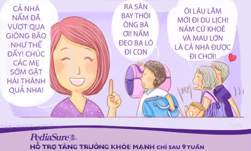 Bộ truyện tranh siêu đáng yêu cho mẹ bí kíp chăm con ăn ngoan khỏe mạnh - 8