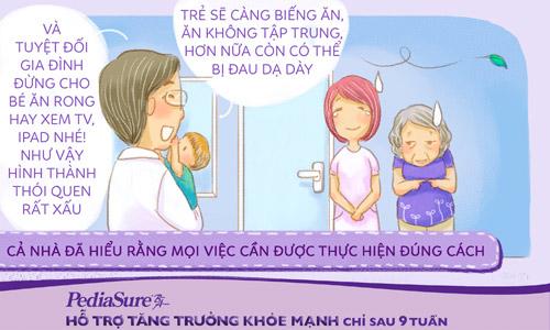 Bộ truyện tranh siêu đáng yêu cho mẹ bí kíp chăm con ăn ngoan khỏe mạnh - 5