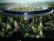 """Ảnh: Nhìn lại lịch sử xây dựng """"trụ sở phi thuyền"""" của Apple"""