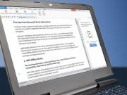 Top phần mềm miễn phí tốt nhất thay thế cho Microsoft Word 2017