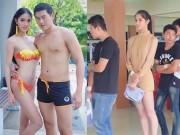 Hết hồn hoa hậu chuyển giới Thái mặc mỏng đi khám nghĩa vụ