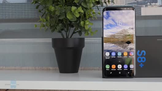 Video mở hộp Samsung Galaxy S8 +