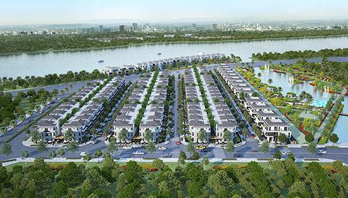 Thị trường BĐS: Sức hút từ sản phẩm nhà liền đất tại khu Nam - 1