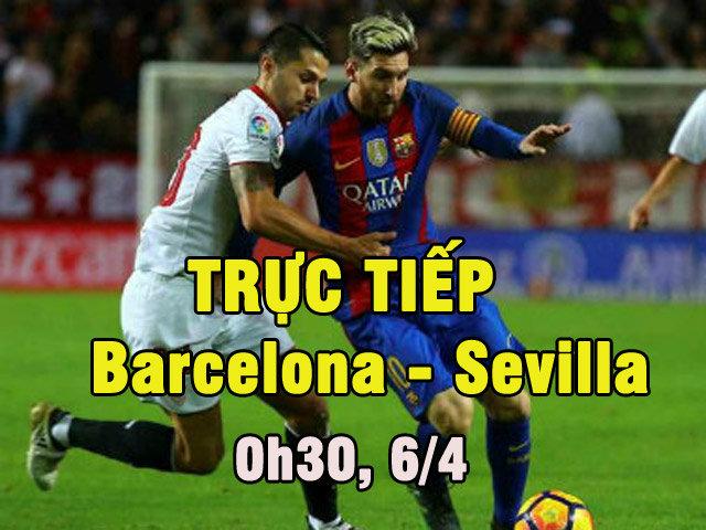 Chi tiết Barca - Sevilla: Thế trận an bài (KT)