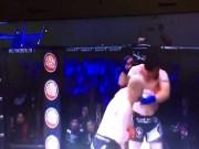 """Thể thao - MMA: 2 cú đấm trời giáng, """"khối thịt 1 tạ"""" đổ sập"""
