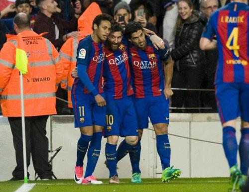 Barca - Sevilla: Choáng váng 8 phút tung lưới 3 bàn - 1