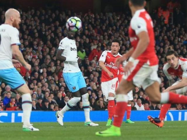 Arsenal - West Ham: Siêu phẩm cứa lòng