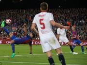 Bóng đá - Barca - Sevilla: Choáng váng 8 phút tung lưới 3 bàn