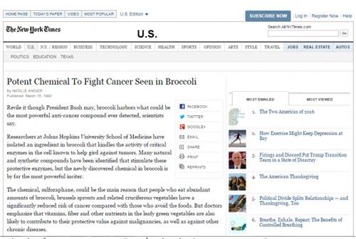 Chất ngừa ung thư 3 lần vinh danh trên tạp chí New York Times đã có ở Việt Nam - 1