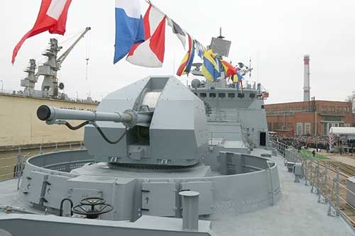 Nga điều tàu chiến áp sát tàu Mỹ phóng tên lửa vào Syria - 3