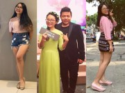 """Ca nhạc - MTV - 14 tuổi Phương Mỹ Chi khoe chân dài, sắp """"vượt mặt"""" nhiều mỹ nhân"""