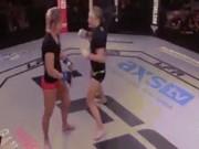 """Thể thao - MMA: Xin thua vẫn bị đối thủ """"truy diệt"""""""