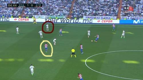 Góc chiến thuật Real – Atletico: Sai một ly, đi mất 2 điểm - 3