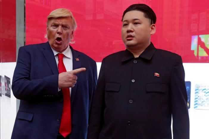 """""""Trump, Obama và Kim Jong-un"""" gây náo loạn Hồng Kông - 3"""