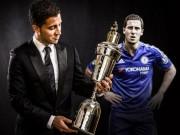 """Cầu thủ hay nhất Ngoại hạng Anh: Hazard """"cô đơn"""""""
