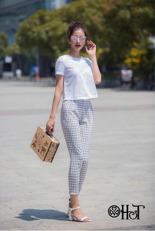 Hương Ly xuất hiện mới lạ trong BST mới của thương hiệu H&T - 7