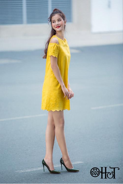 Hương Ly xuất hiện mới lạ trong BST mới của thương hiệu H&T - 9