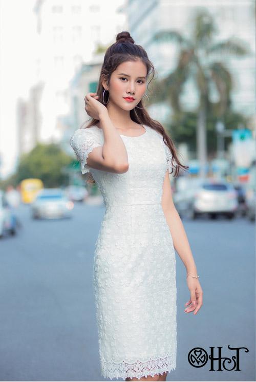 Hương Ly xuất hiện mới lạ trong BST mới của thương hiệu H&T - 10